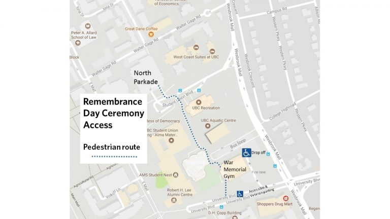 Remembrance Day Map 2017